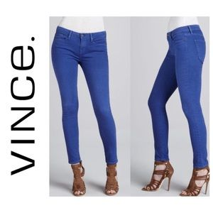 Vince Skinny Ankle Pacific Blue Size 27 Jeans